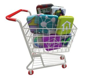 Image caddie:contenus & parcours d'achat